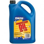 CLARKE SAE40 ISO 150  PISTON AIR COMPRESSOR OIL (RED LINE COMPRESSORS) 5 LITRES